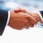 building trust handshake