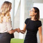 trust building handshake